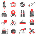 Space Icons Set Royalty Free Stock Images - 63160049