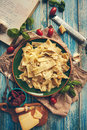 Just Cooked Pappardelle Italian Cuisine Dish With Timatoes And C Stock Photography - 63160162