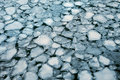 Ice Floes Background Of Winter River. Royalty Free Stock Photos - 63180538