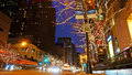 Christmas Decorations, Chicago Royalty Free Stock Photos - 63180588