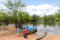 Amazon Rainforest - Canoe Expedition At The River Near Manaus, Brazil South America Stock Images - 63180624