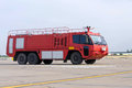 Airport Fire Engine Royalty Free Stock Photo - 63181515