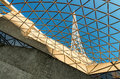 MELBOURNE, AUS - OCTOBER 10, 2015: Structure Of Arts Centre Melb Stock Image - 63203961
