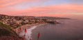 Sunset Over Crescent Bay In Laguna Beach Royalty Free Stock Images - 63242299
