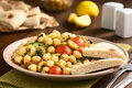 Chickpea Salad Stock Images - 63262324