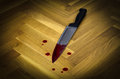 Bloody Knife, Concept Photo Of Murder And Crime Stock Photography - 63265612