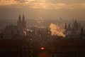 Czech Republic, Prague, Oldtown Roofs During Twilight Royalty Free Stock Photography - 63287457