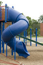 Blue Playground Slide Stock Photo - 6330640