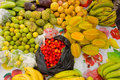 Tropical Produce For Sale On Bequia Stock Photos - 63310253