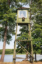 Patrol Watchtower. Grutas Park. Lithuania Royalty Free Stock Photo - 63318325