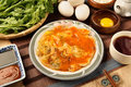 Oyster Omelet Stock Image - 63343681