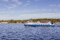 Ferry Near Arkosund Sweden Royalty Free Stock Photography - 63353757