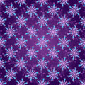 Seamless Dark Violet Christmas Pattern Stock Photography - 63400312