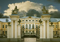 RUNDALE, LATVIA - SEPTEMBER 15, 2013: The Public Governmental Museum - Rundale Palace (Latvia) Was Established By Russian Monarch Royalty Free Stock Photo - 63421065