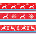 CHRISTMAS BORDER VECTOR RED Royalty Free Stock Photo - 63423605
