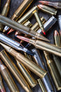 Ammunition For Firearms Royalty Free Stock Photos - 63431078