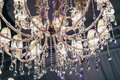 Crystal Chandelier Close Up Stock Photography - 63433472