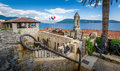 Fotre Mare Ancient Fortress On The Adriatic Sea Royalty Free Stock Image - 63436076