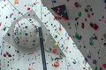 Indoor Climbing Gym Wall Detail Stock Photography - 63443982