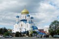 Orthodox Cathedral Of The Holy Cross In Uzhorod Stock Images - 63452774
