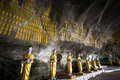 Buddhas Statues And Religious Carving At Sadan Sin Min Cave. Hpa Royalty Free Stock Image - 63472216