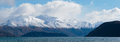 Panorama Mountain View Beautiful Look Out Of Lake Wanaka Winter Stock Images - 63504524