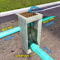 Storm Sewer Catch Basin Diagram Royalty Free Stock Photography - 63507997