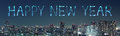 Happy New Year Fireworks Celebrating Over Tokyo Cityscape At Nig Royalty Free Stock Photos - 63553808