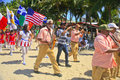 St.Patrick S Day Marching Band Parade On The Beach, Cabarete, Dominican Republic Royalty Free Stock Photos - 63555858