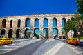 The Valens Aqueduct, Istanbul Stock Photos - 63556343