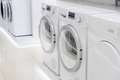 Laudry Dryers And Washing Mashines In Appliance Royalty Free Stock Photos - 63559858