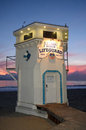 The Iconic Life Guard Tower On The Main Beach Of Laguna Beach, California. Royalty Free Stock Photography - 63562307