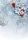 Christmas Card With Gorgeous Winter Flowers Stock Photo - 63585330