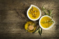 Olive Oil With Herbs Stock Photography - 63591372