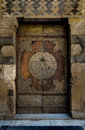 A Historical Aged Door At A Mosque In Cairo Royalty Free Stock Photography - 63595017