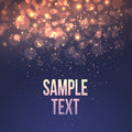 Defocused Magic Star Background. Vector Royalty Free Stock Photography - 63598117