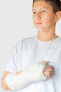 Broken Arm Stock Photo - 63607770