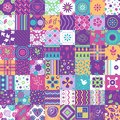 Seamless Patchwork Pattern Ornaments. Can Be Used For Wallpaper, Pattern Fills, Web Page Background,surface Textures. Royalty Free Stock Photography - 63626897