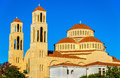 Agioi Anargyroi Orthodox Cathedral In Paphos Stock Images - 63637184