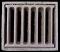 Close-up Of A Grate Royalty Free Stock Photography - 6371197