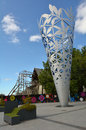 The Chalice In Cathedral Square Christchurch - New Zealand Stock Photo - 63719230