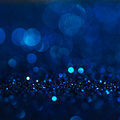 Defocused Abstract Blue Lights Background . Bokeh Lights. Royalty Free Stock Photography - 63752807