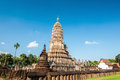 Ancient Stupa, Sukhothai Province, Northern Thailand Stock Photography - 63754612