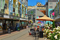 New Regent Street In Christchurch - New Zealand Royalty Free Stock Image - 63759146
