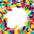 Colorful Candy Background With Jelly Beans Stock Photo - 63766250