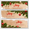 Chistmas Banners Set Royalty Free Stock Images - 63798039