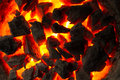 Red-hot Coals Stock Image - 63812581