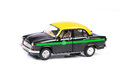 Eco Friendly Taxi Stock Image - 63842321
