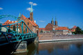 Wroclaw In Poland Royalty Free Stock Photo - 63854715