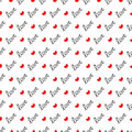 Seamless Pattern Love Royalty Free Stock Images - 63869149